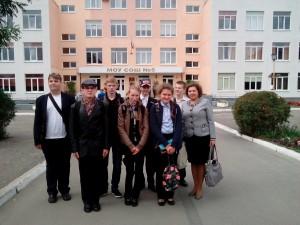 Команда 8,10 класса нашей школы