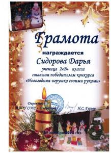 Сидорова Дарья3