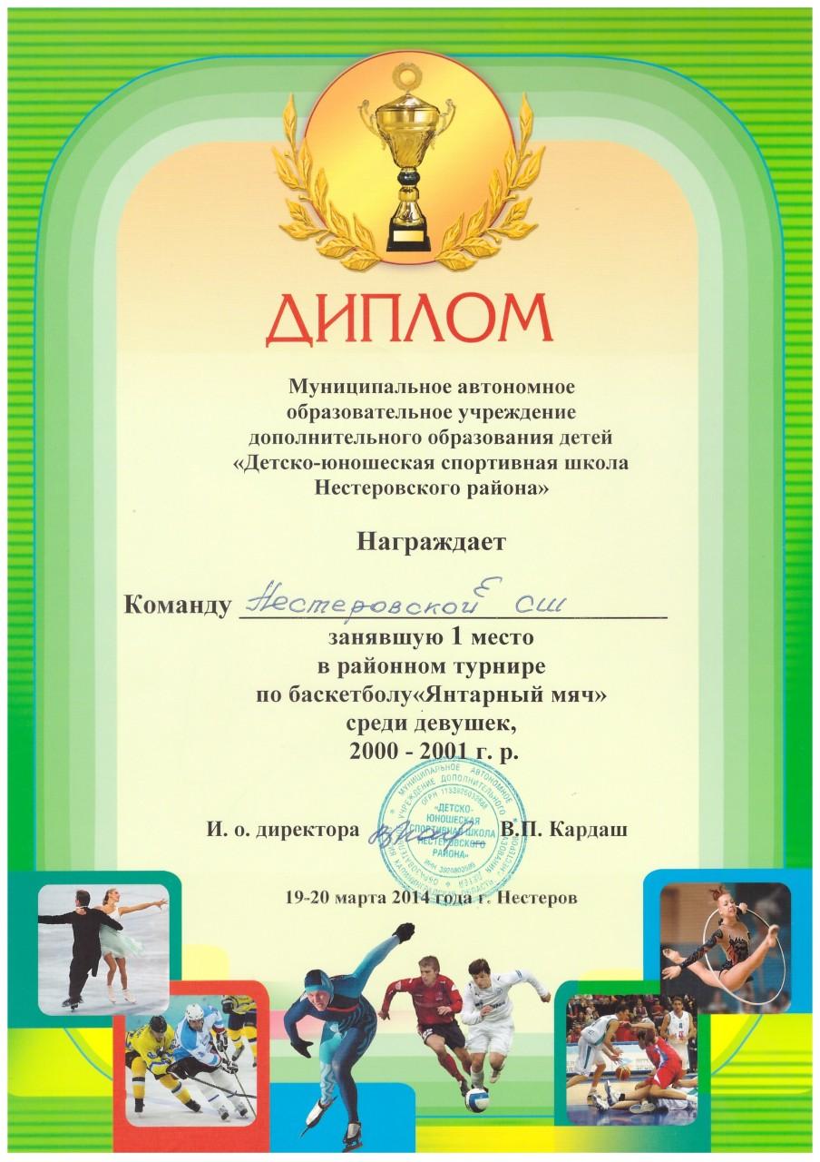 2013-14 янтарный мяч девушки 1 место-min