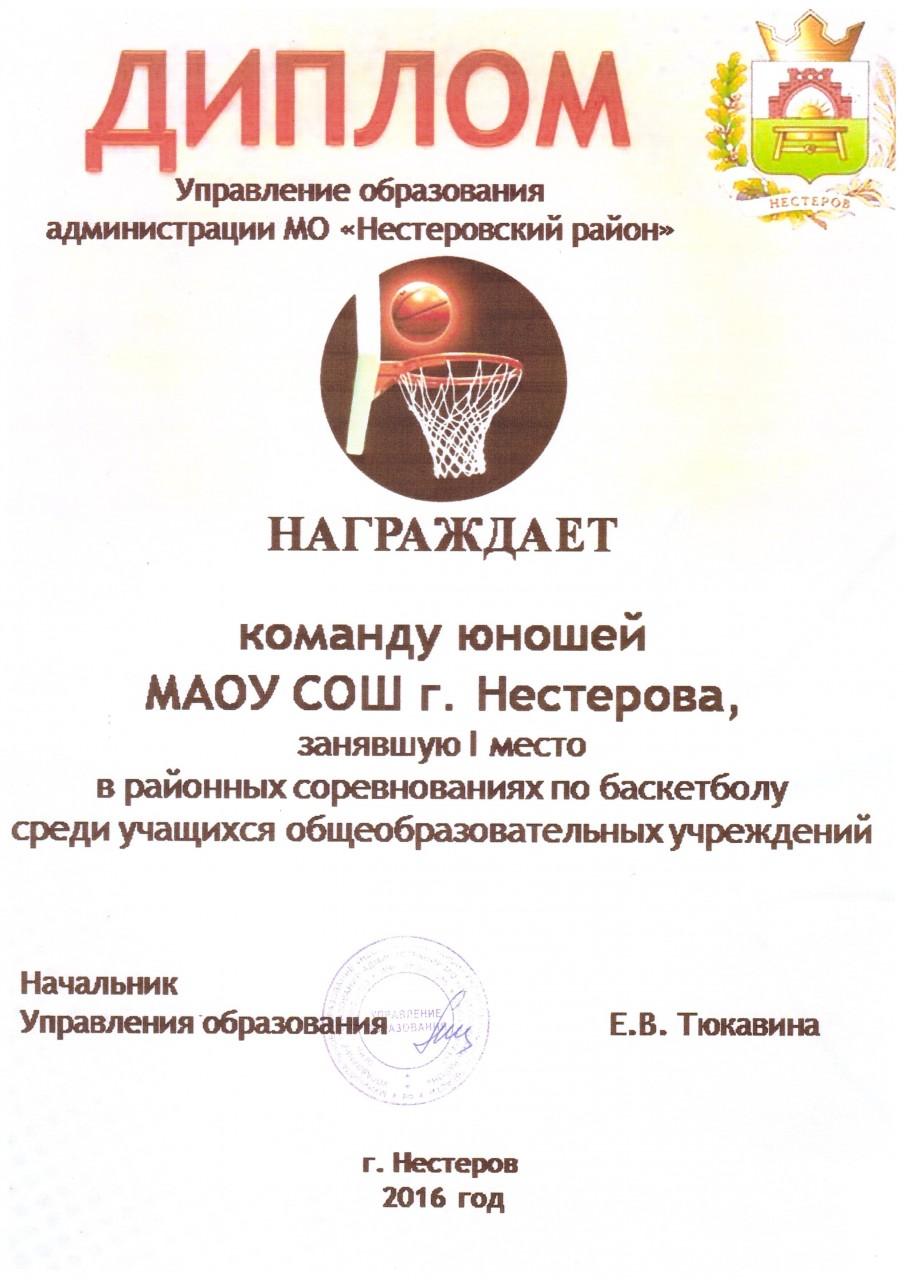 2016-17баскетбол юноши 1 место-min
