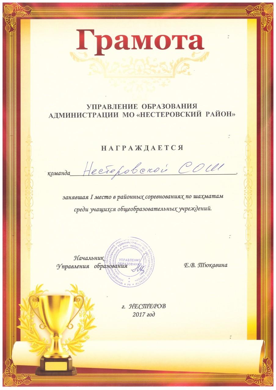 2016-17шахматы 1 место-min