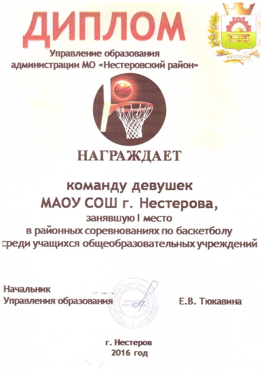 2016-17 баскетбол девушки 1 место-min