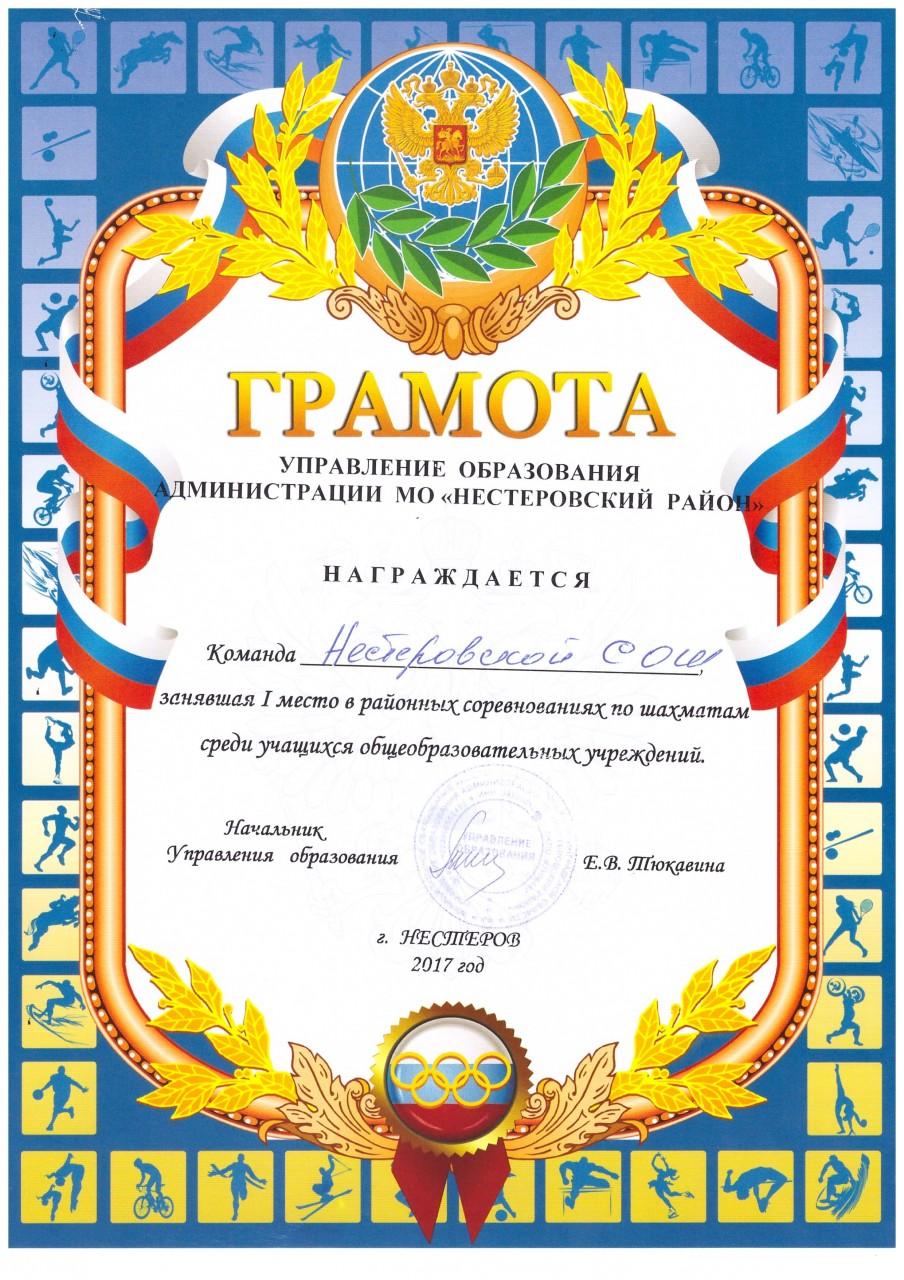 2017-18 шахматы 1 место-min