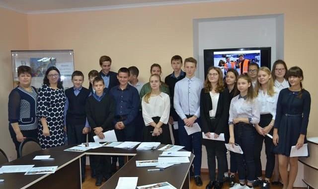 Профориентационная работа  в МАОУ СОШ г. Нестерова имени В. И. Пацаева