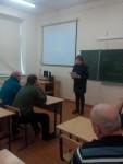 Встреча инспектора ГИБДД с водителями школьных автобусов (2)