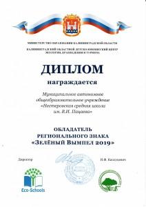 Зеленый вымпел 2019 (2)