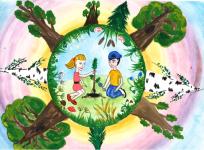 лес глазами детей