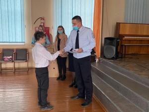 Посвящение в Юные помощники полиции (1)