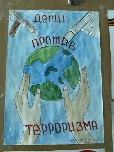 Выставка рисунков «Дети против террора» (3)