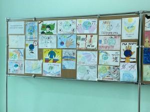 Выставка рисунков «Дети против террора» (5)