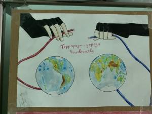 Выставка рисунков «Дети против террора» (6)