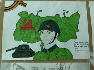 Выставка рисунков «Дети против террора» (7)