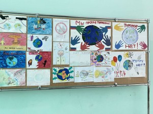 Выставка рисунков «Дети против террора» (8)