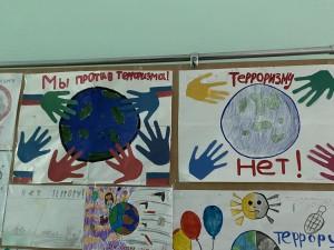 Выставка рисунков «Дети против террора» (9)